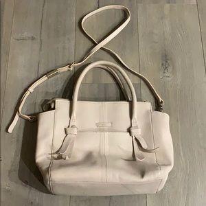 Foley + Corinna Soft Pink/Beige Satchel Bag